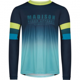 Alpine men's long sleeve jersey  ink navy / lime punch XX-large